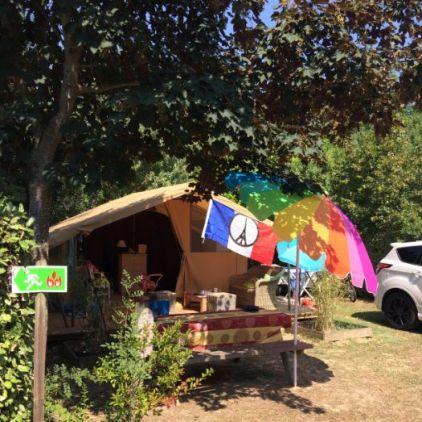 Vacances colorées en Coton Lodge
